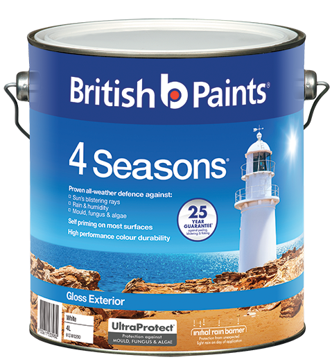 British Paints 4 Seasons Gloss British Paints