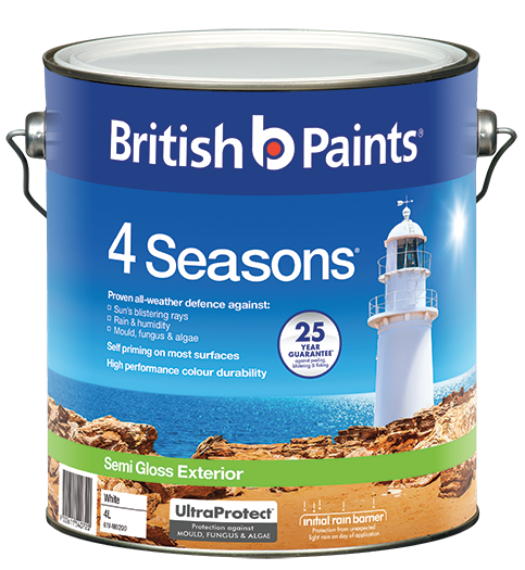 Tips colour inspiration springtime exteriors british paints - Exterior wood paint matt pict ...