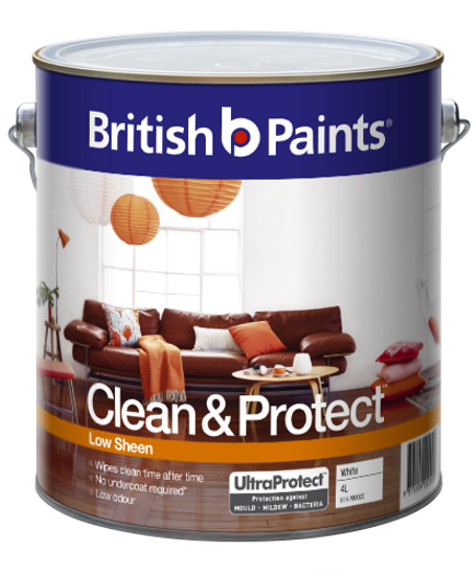 British Paints Clean And Protect Low Sheen