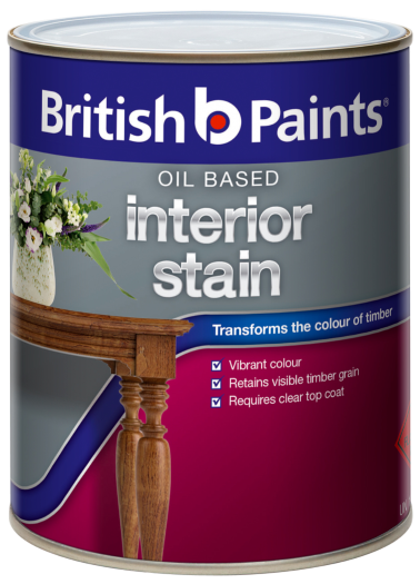 British Paints Oil Based Interior Stain